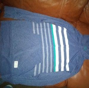 Gap kids XL hooded long sleeve shirt